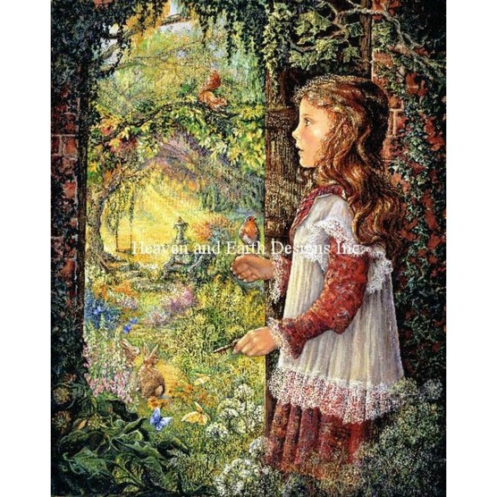 クロスステッチ キット 上級者 全面刺し Heaven And Earth Designs(HAED) - Secret Garden JW