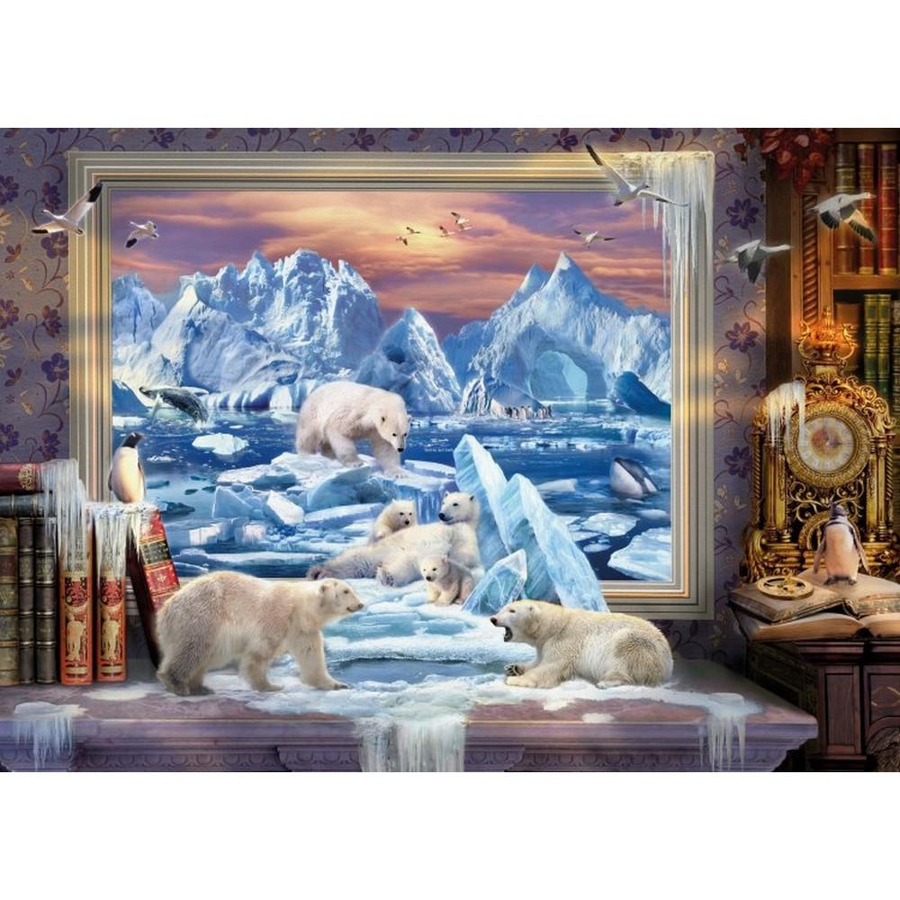 クロスステッチ刺繍キット Heaven And Earth Designs(HAED) - Arctic Coming To Life