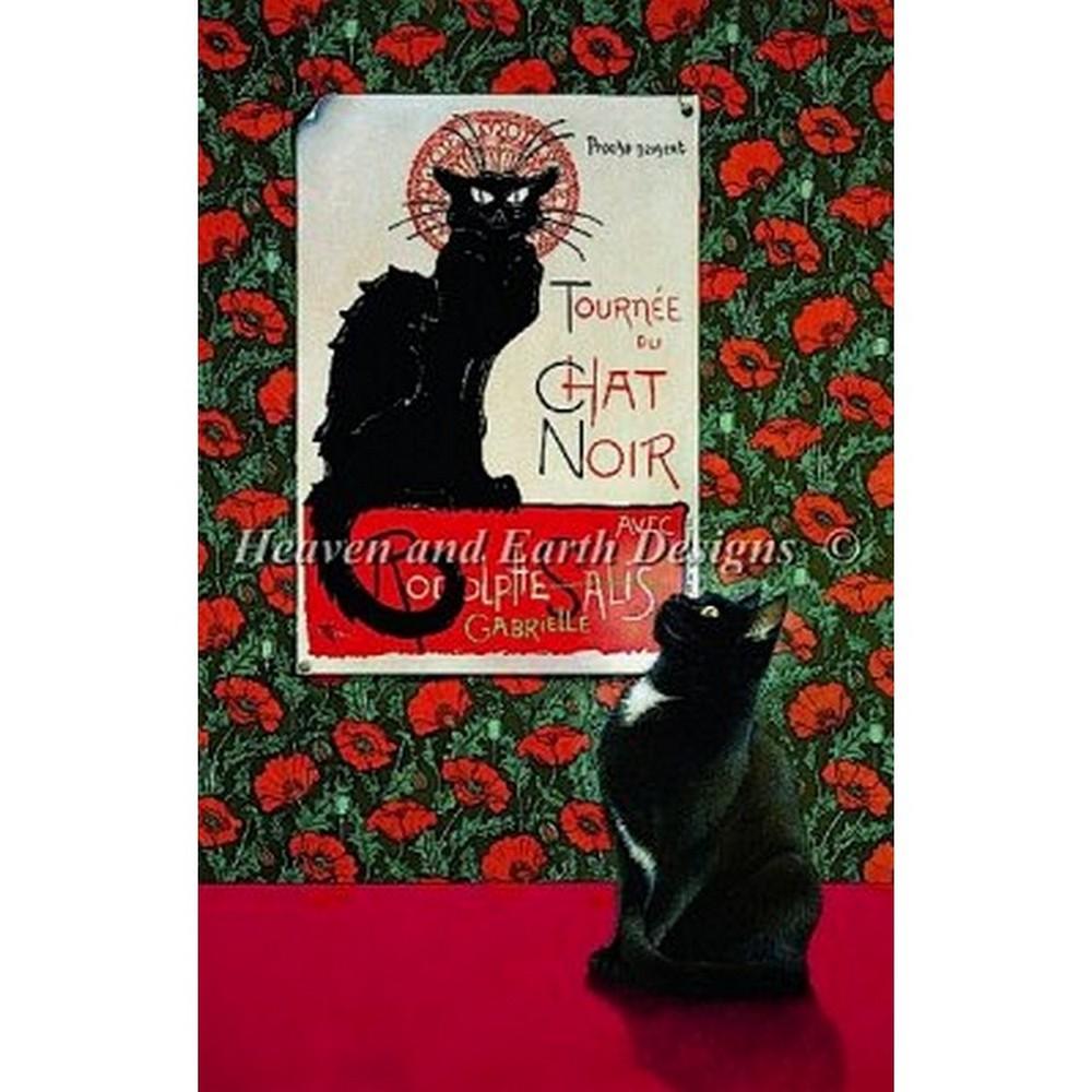 クロスステッチ刺繍キット Heaven And Earth Designs(HAED) - Tournee Du Chat Noir, 阪神名物 いか焼き e4eacd3e