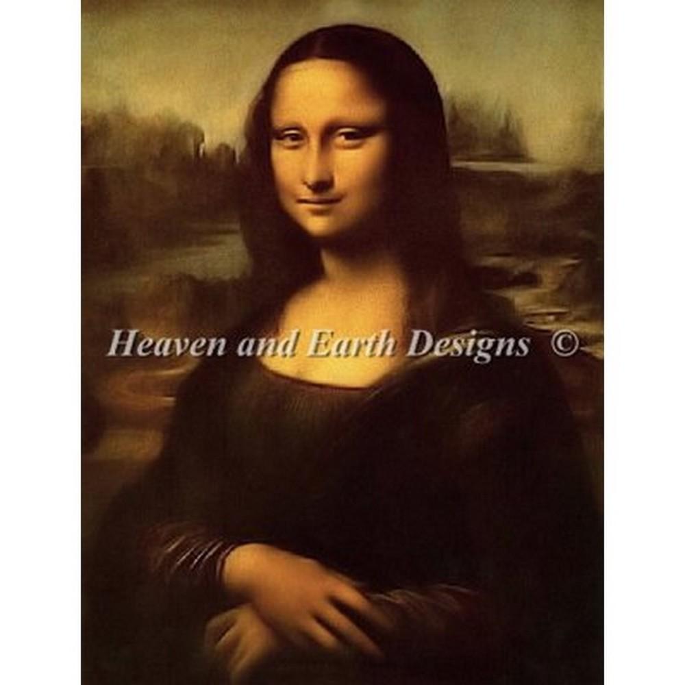 クロスステッチ刺繍キット Heaven And Earth Designs(HAED) - Mona Lisa(モナリザ)
