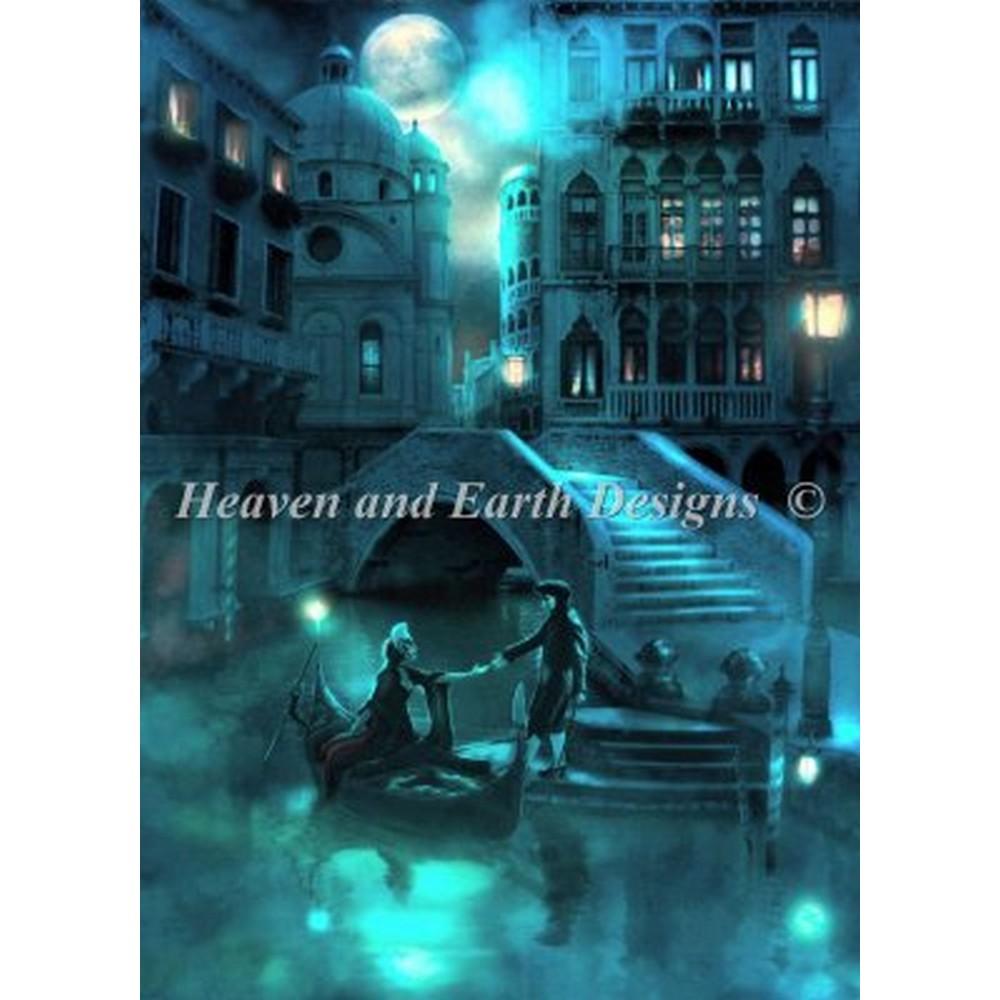 クロスステッチ キット 上級者 全面刺し Heaven And Earth Designs(HAED) - Venice Moon