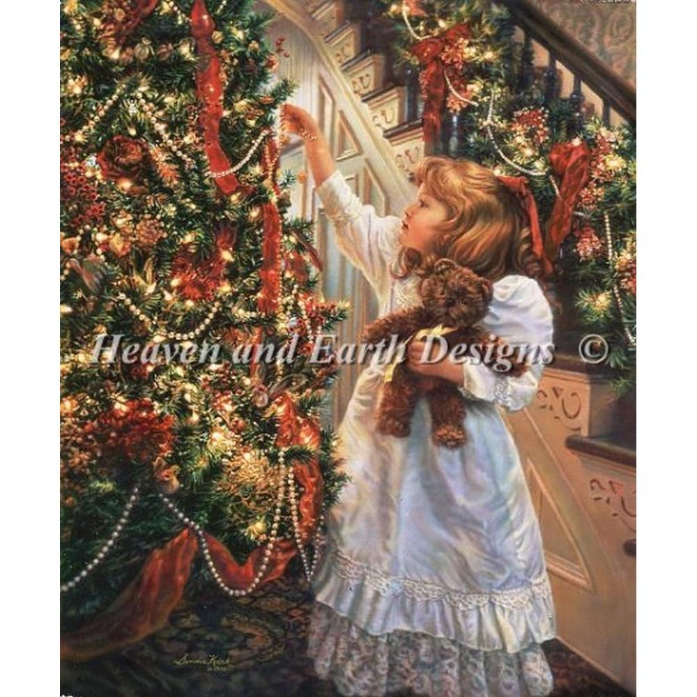 クロスステッチ キット 上級者 全面刺し クリスマス Hanging Ornaments-Heaven And Earth Designs(HAED)
