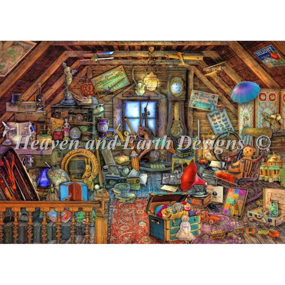 クロスステッチ キット 上級者 全面刺し Heaven And Earth Designs(HAED) - Grandmas Attic