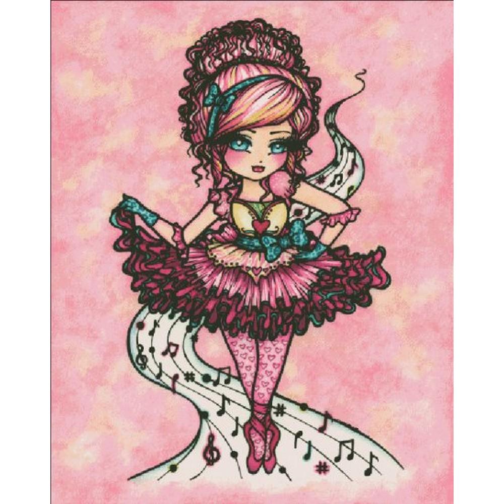 クロスステッチ キット 上級者 全面刺し Heaven And Earth Designs(HAED) - Ballet Girl