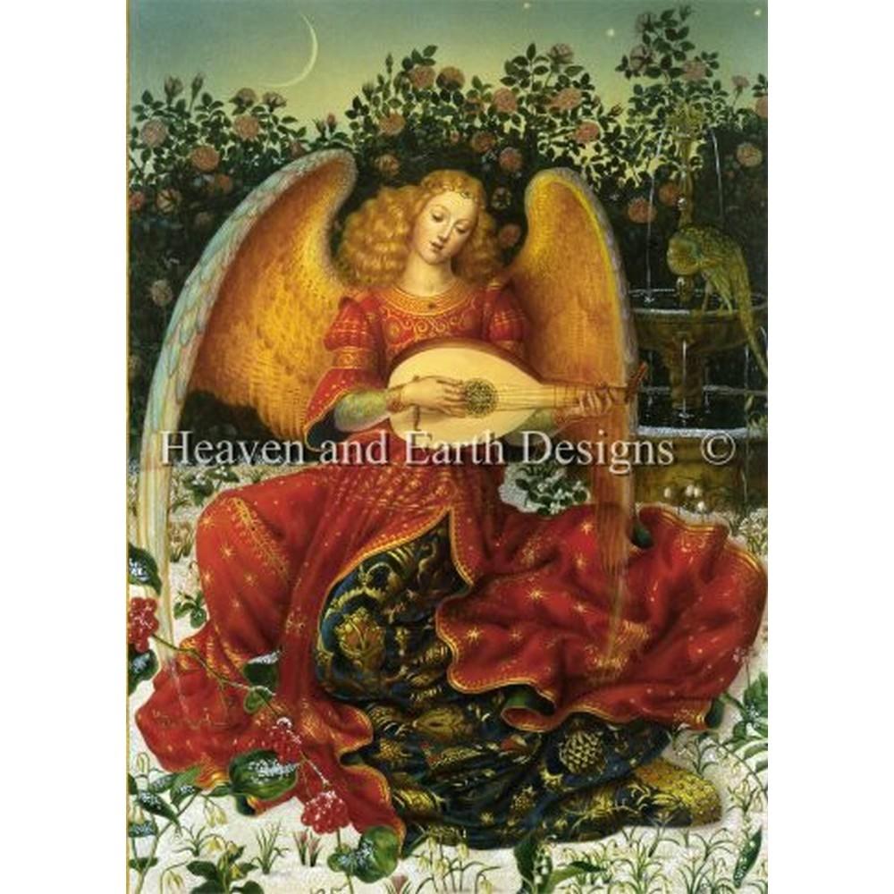 クロスステッチ刺繍キット クロスステッチキット 海外 Heaven And Earth Designs(HAED) - Winter Angel