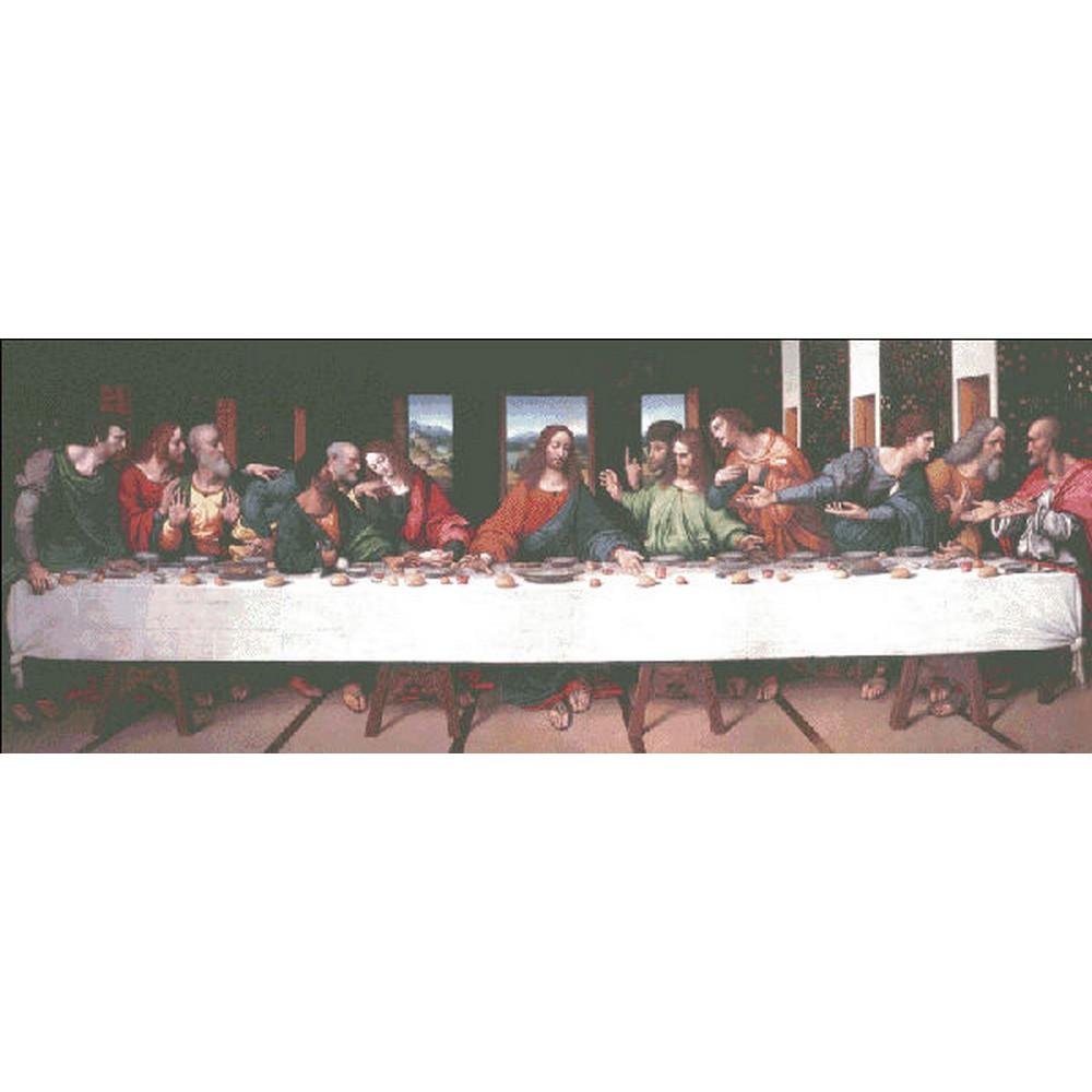 Giampietrino Last Supper(最後の晩餐)-Heaven And Earth Designs(HAED) クロスステッチ刺繍キット クロスステッチキット 海外ジョヴァンニ・ピエトロ・リッツォーリ