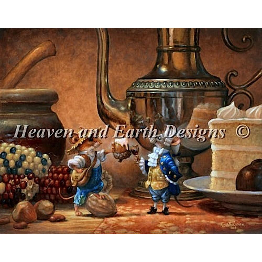 クロスステッチ キット 上級者 全面刺し The Country Mouse and The City Mouse-Heaven And Earth Designs(HAED)