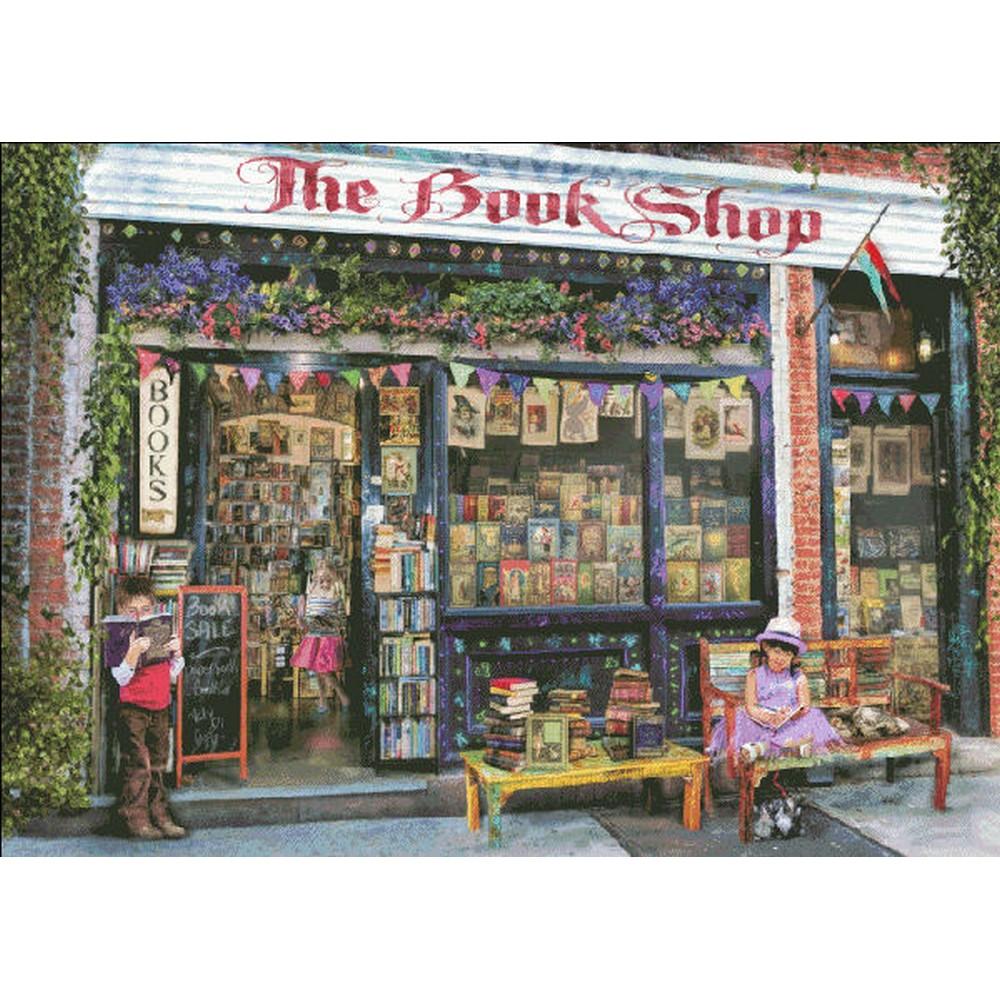クロスステッチ キット 上級者 全面刺し The Bookshop Kids-Heaven And Earth Designs(HAED)