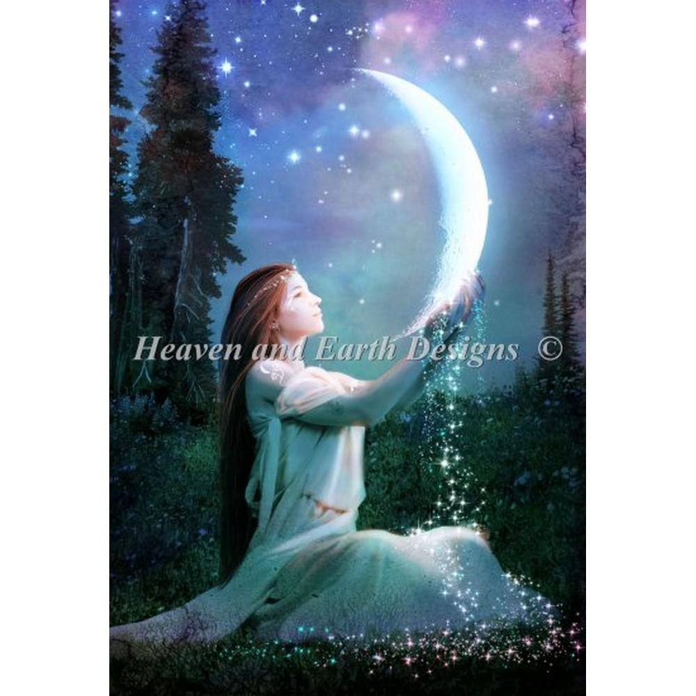 クロスステッチ キット 上級者 全面刺し Heaven And Earth Designs(HAED) - Mooncharmer