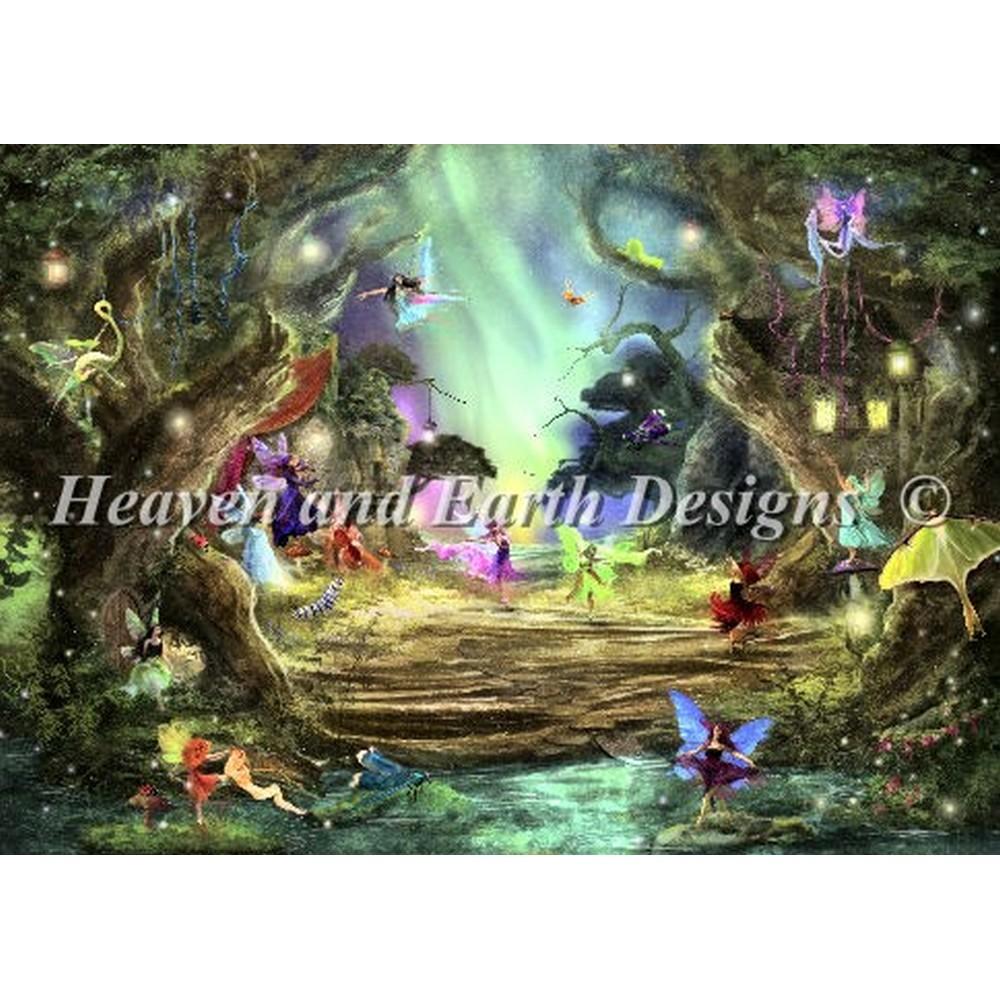 クロスステッチ キット 上級者 全面刺し The Dancing Auroras - Heaven And Earth Designs(HAED)