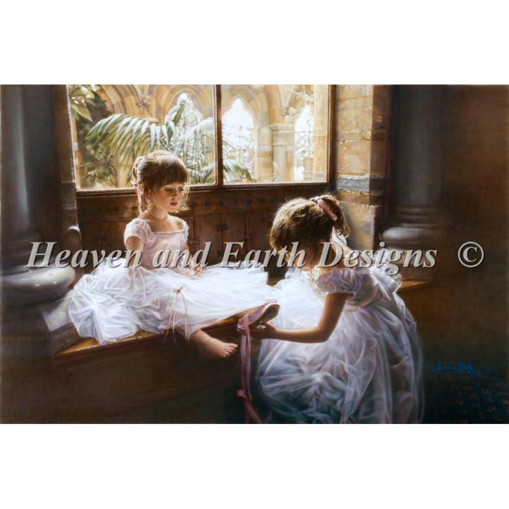 クロスステッチ キット 上級者 全面刺し Ballerina Sisters - Heaven And Earth Designs(HAED)