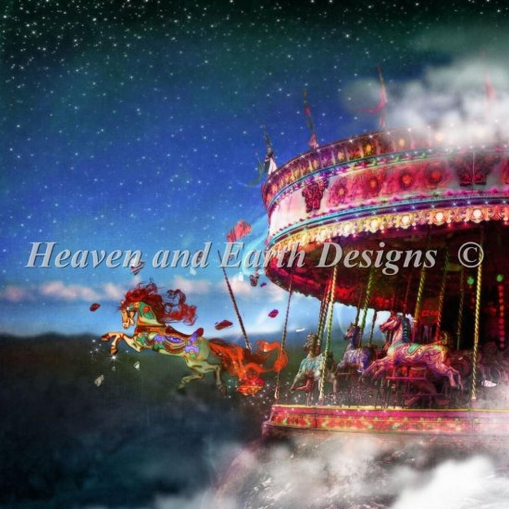 クロスステッチキット HAED(Heaven And Earth Designs)-Leap Of Faith