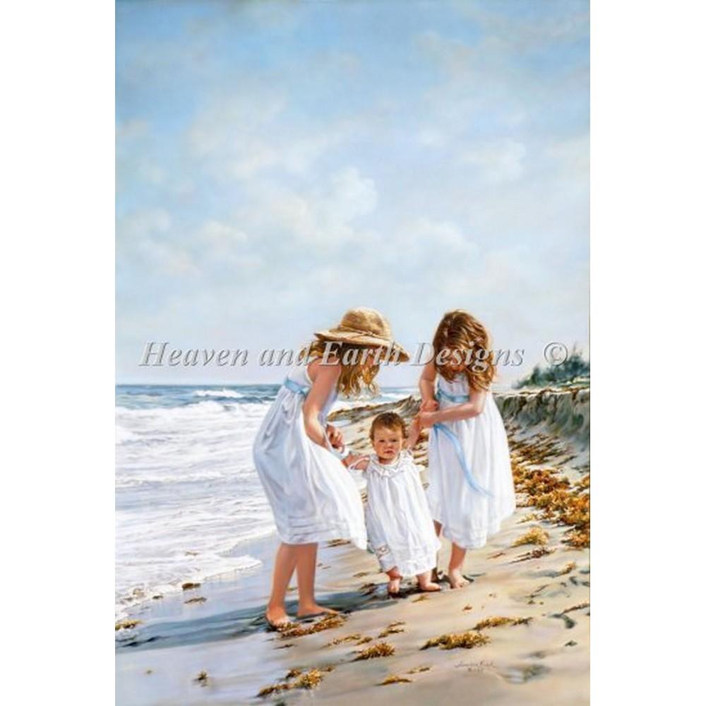 クロスステッチ キット 上級者 全面刺し HAED(Heaven And Earth Designs)-Summer Fun
