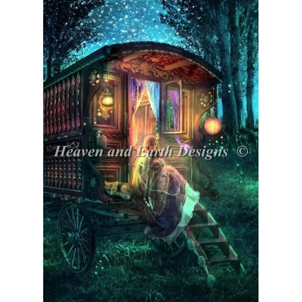 クロスステッチ キット 上級者 全面刺し HAED(Heaven And Earth Designs)-Gypsy Firefly
