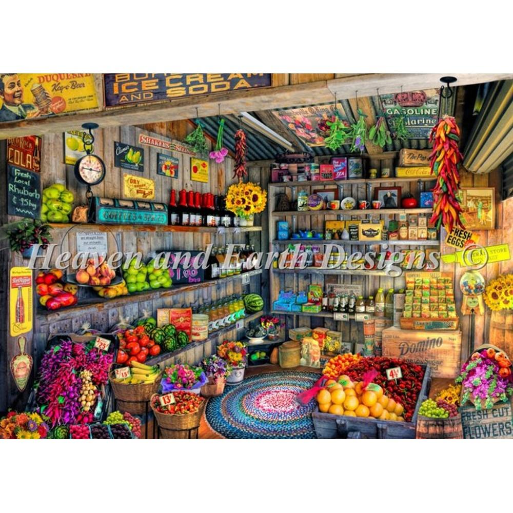 クロスステッチ キット 上級者 全面刺し HAED(Heaven And Earth Designs)-The Farmers Market