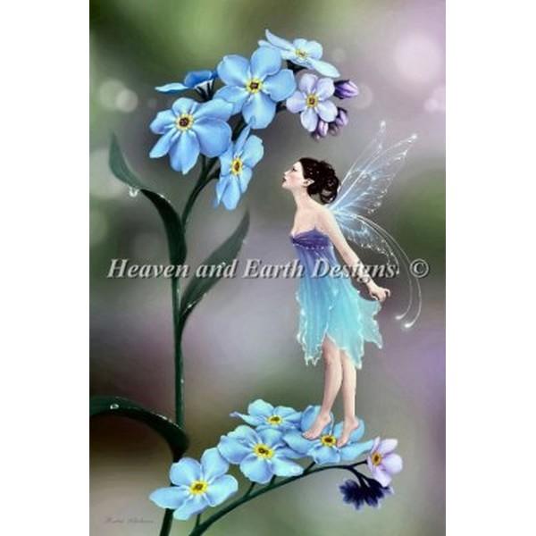 クロスステッチ キット 上級者 全面刺し HAED(Heaven And Earth Designs) - Rachel Anderson - Mini Forget Me Not