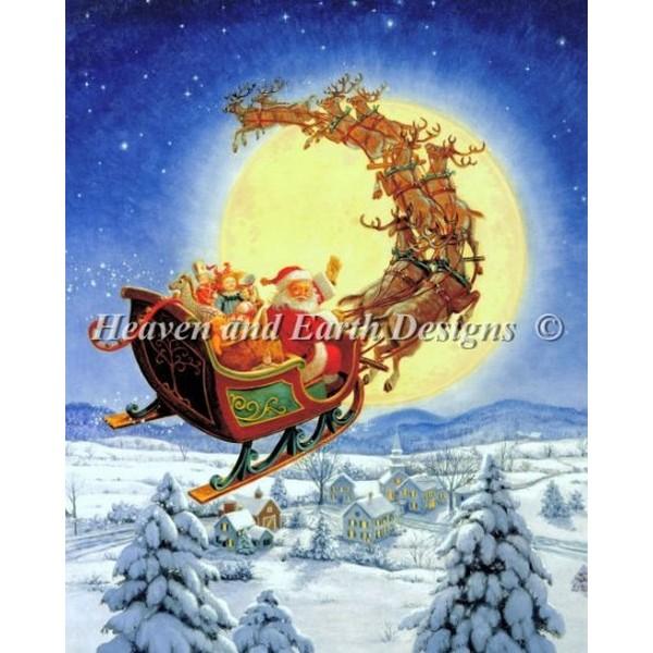 クロスステッチ キット 上級者 全面刺し HAED(Heaven And Earth Designs) - Ruth Sanderson - Mini Merry Christmas to All