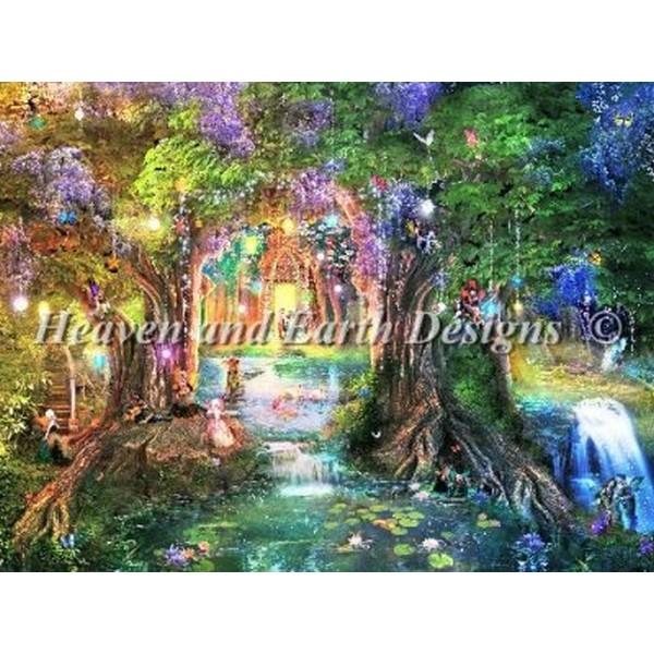 クロスステッチ刺繍 キット HAED(Heaven And Earth Designs) - Aimee Stewart - Mini The Butterfly Ball