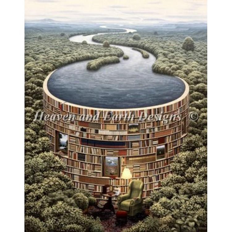 クロスステッチ刺繍キット HAED(Heaven And Earth Designs) - Mini Bibliodame