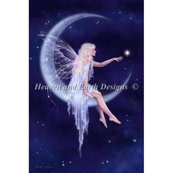 クロスステッチ刺繍キット HAED(Heaven And Earth Designs) - Mini Birth Of A Star