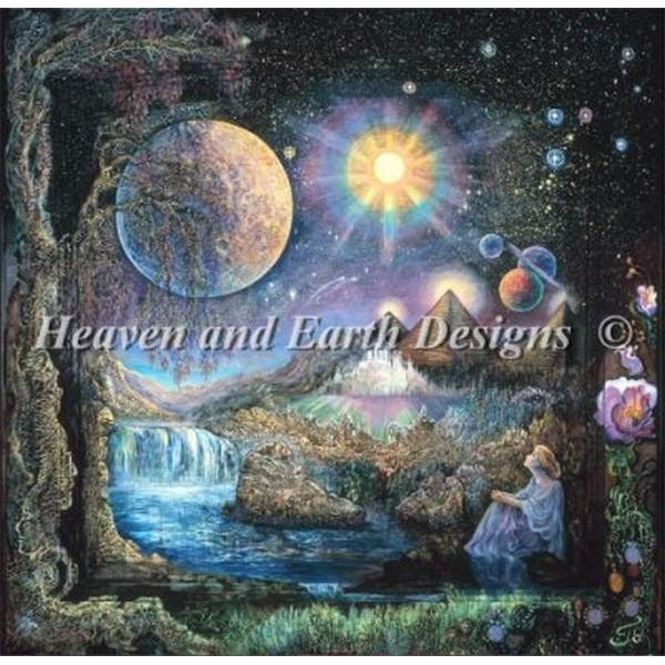 クロスステッチ キット 上級者 全面刺し HAED(Heaven And Earth Designs) - Mini Doorway To The Stars