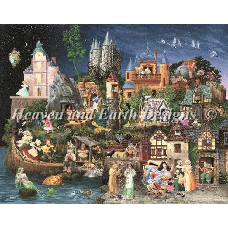 クロスステッチ刺繍キット HAED(Heaven And Earth Designs) - Mini Faery Tales
