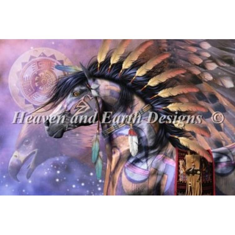 クロスステッチ キット 上級者 全面刺し HAED(Heaven And Earth Designs) - Mini Shaman