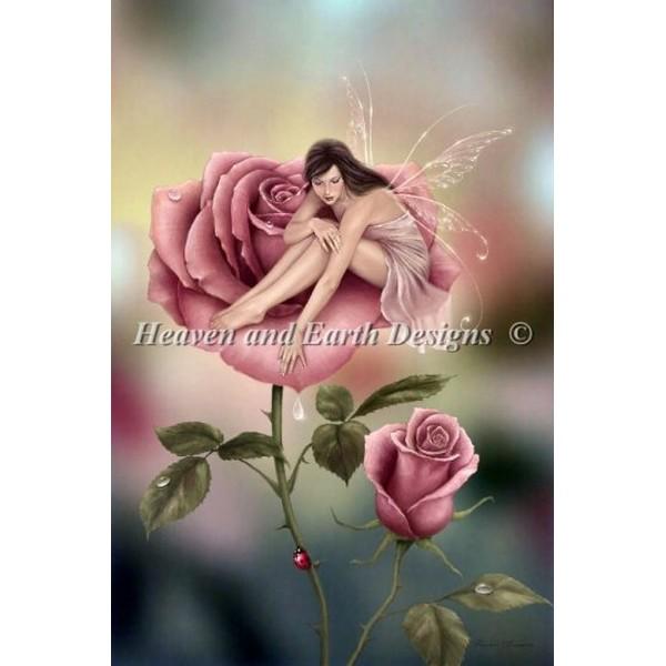 クロスステッチ刺繍キット クロスステッチキット 海外 Heaven And Earth Designs(HAED) - Mini Rose Anderson