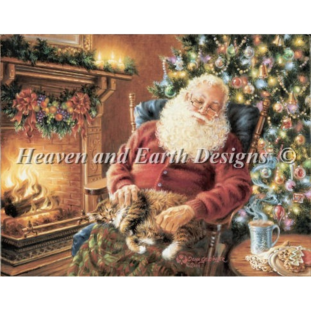 クロスステッチ刺繍キット クロスステッチキット 海外 Heaven And Earth Designs(HAED) - Mini A Long Winters Nap