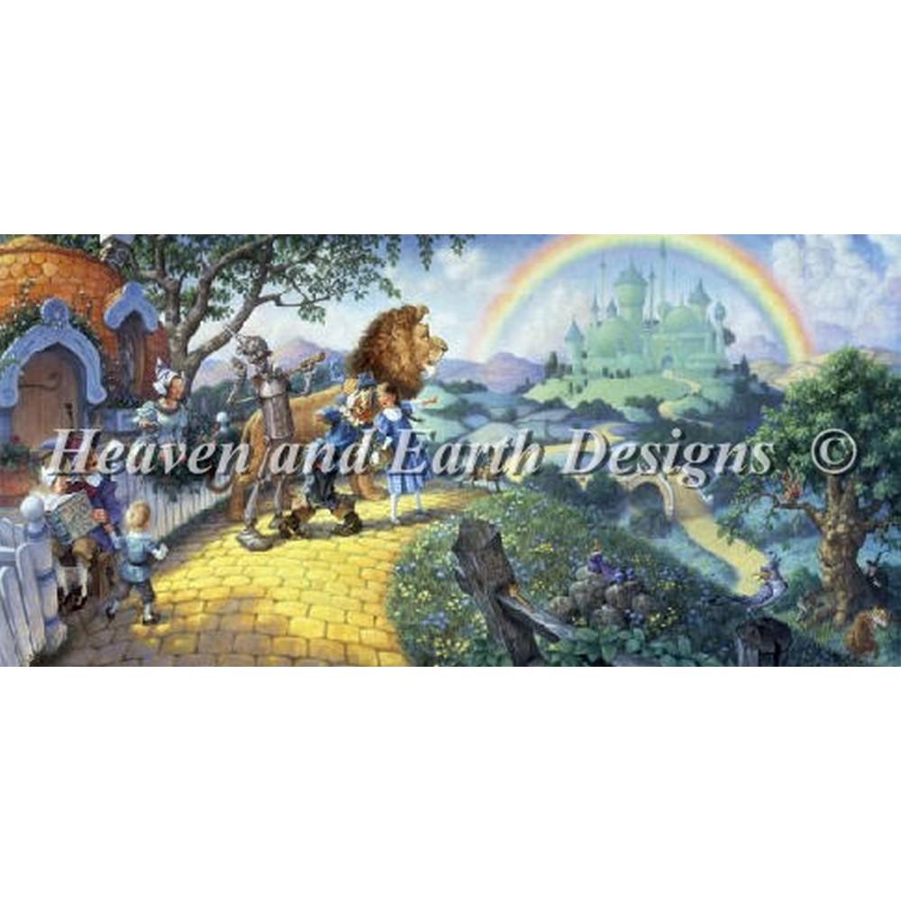 クロスステッチ キット 上級者 全面刺し Heaven And Earth Designs(HAED) - Mini The Wizard Of Oz