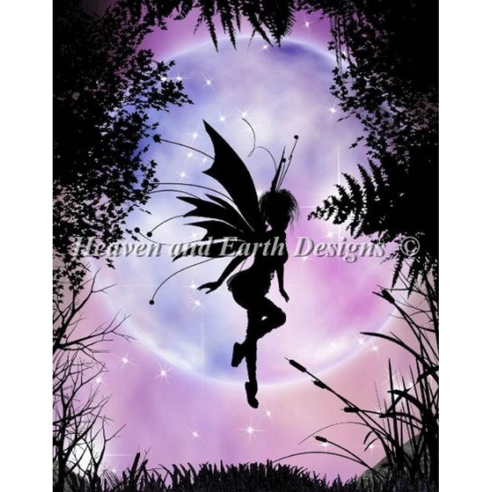クロスステッチ キット 上級者 全面刺し Heaven And Earth Designs(HAED) - Mini Pixie Dreams