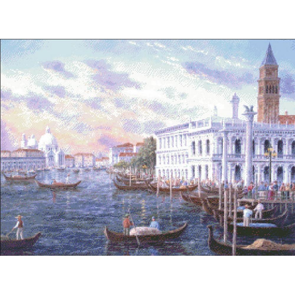 クロスステッチキット クロスステッチ刺繍キット 海外 Heaven And Earth Designs(HAED) - Mini Romantic Venice