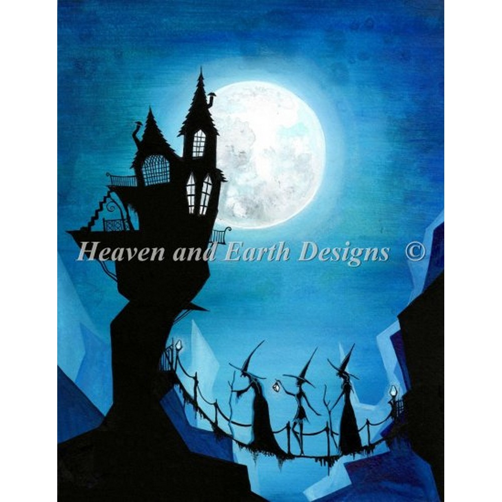 クロスステッチ刺繍キット 海外輸入 全面刺し クロスステッチ キット 高い素材 上級者 Heaven 市販 And Mini HAED Designs Home Earth Journey -