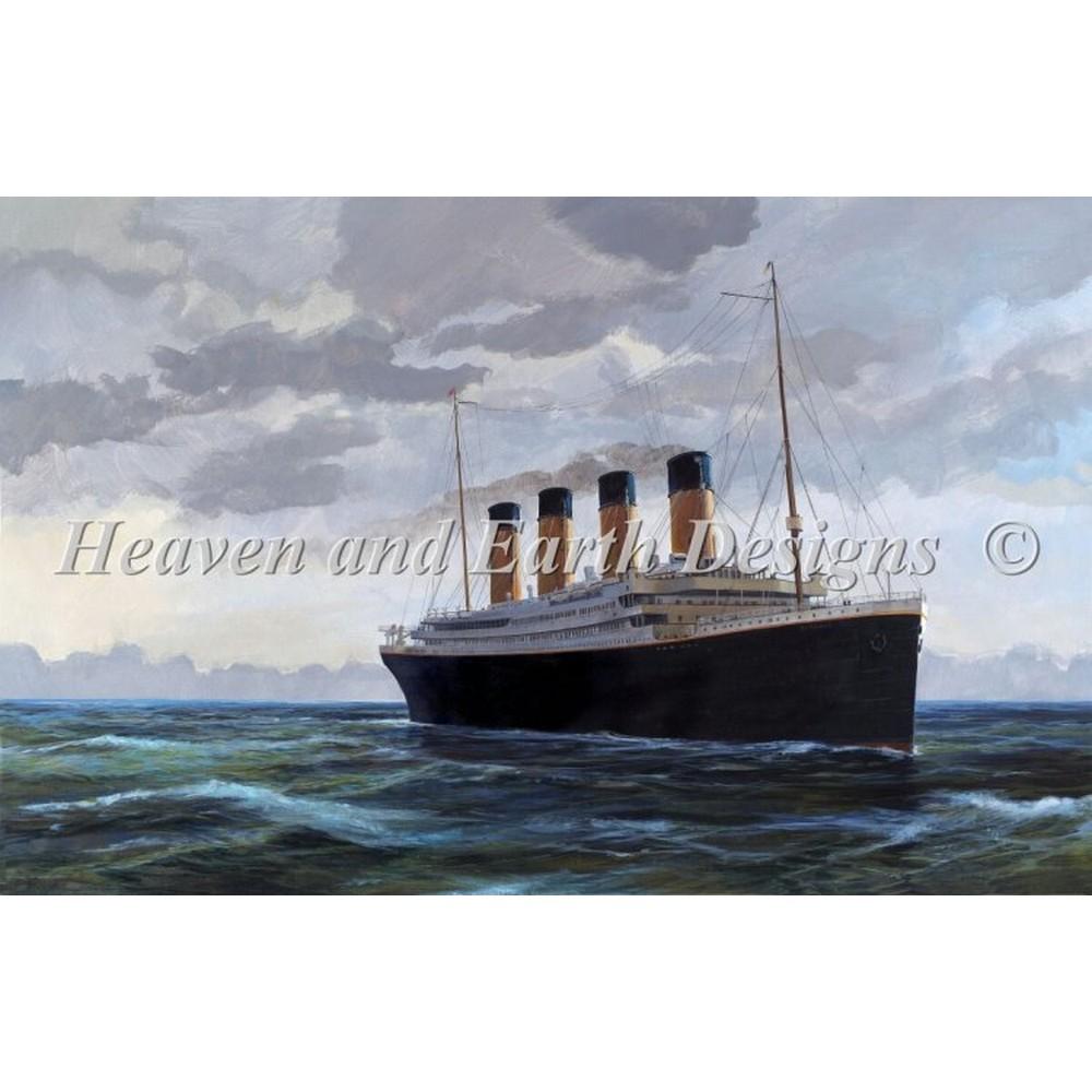 クロスステッチ キット 上級者 全面刺し Heaven And Earth Designs(HAED) - Mini Titanics Last Day
