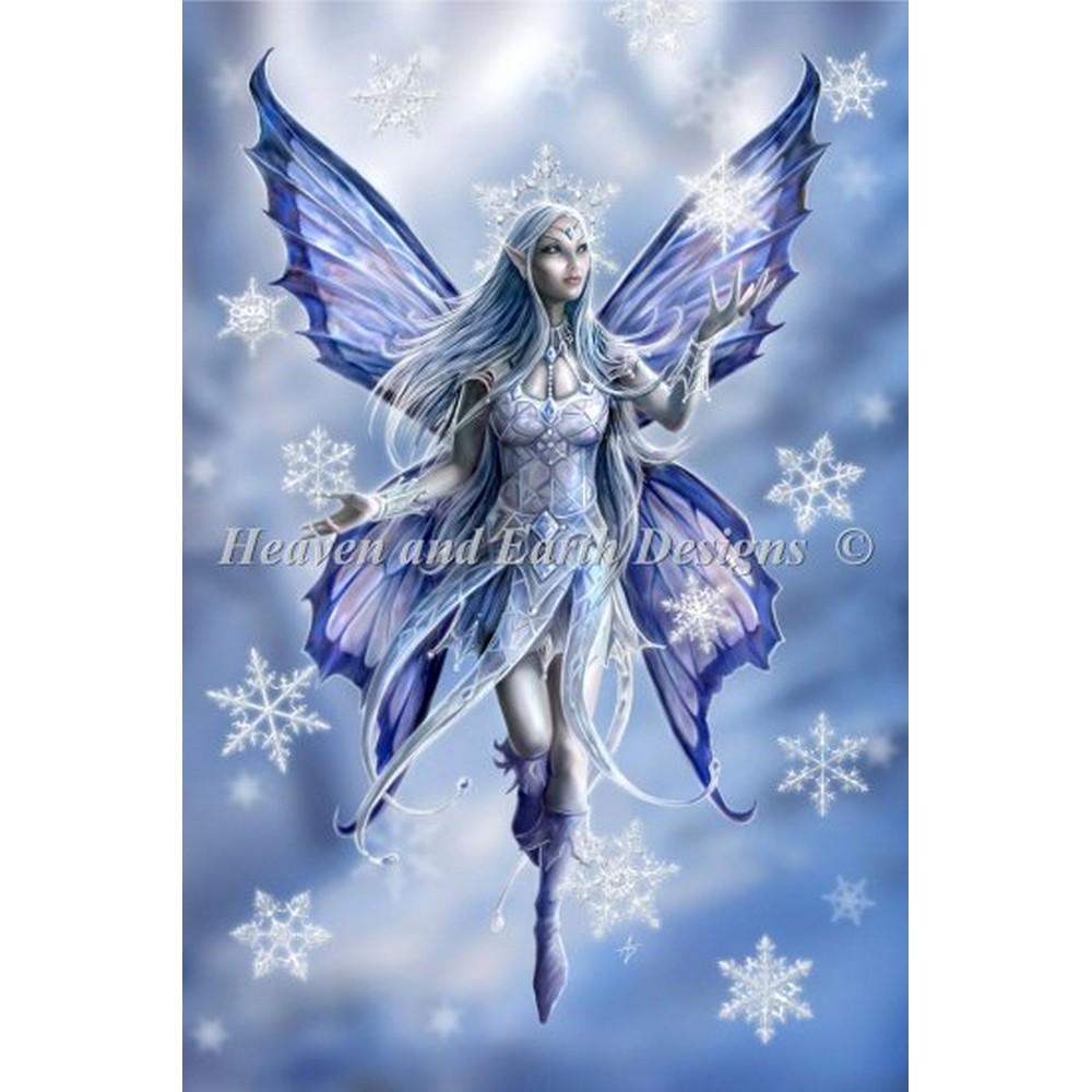 クロスステッチ キット 上級者 全面刺し Heaven And Earth Designs(HAED)-Mini Snow Fairy