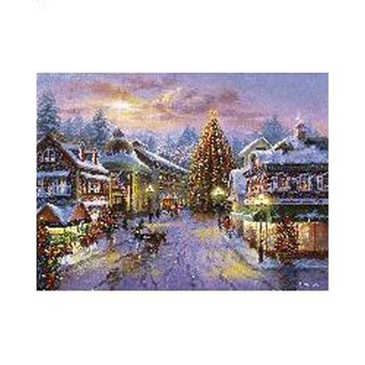 クロスステッチ刺繍キット Mystic Stitch - Christmas Eve 18ct