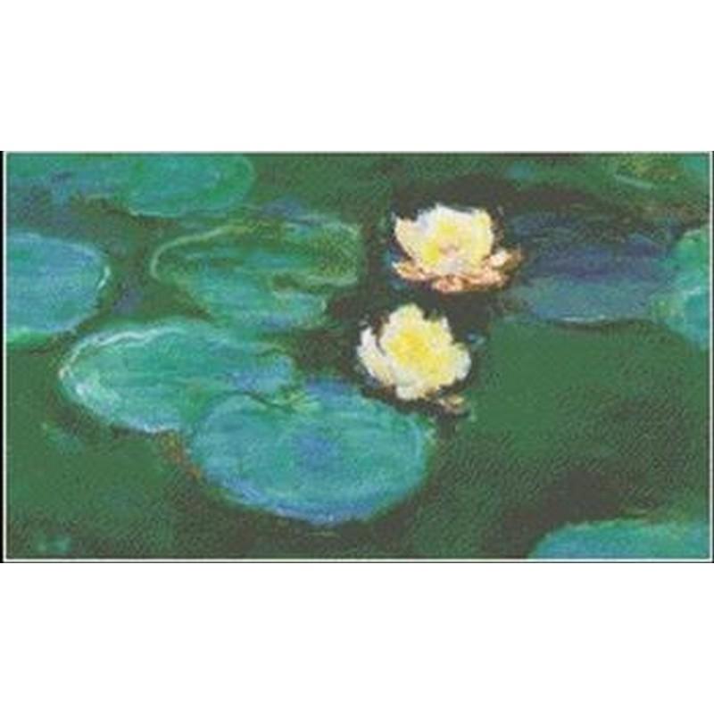 [クロスステッチ刺繍キット] Mystic Stitch - Water Lilies III- Monet(モネ)