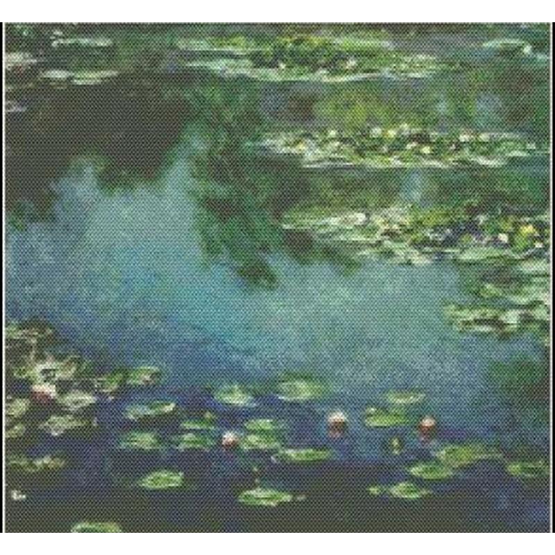[クロスステッチ刺繍キット] Mystic Stitch - Water Lilies IV - Monet(モネ)