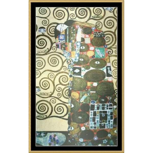 クロスステッチ キット 海外輸入の刺繍キット 上級者 全面刺し 名画 クリムト 16ct-Mystic Stitch - Klimt Fullfillment レビューを書けば送料当店負担 今ダケ送料無料