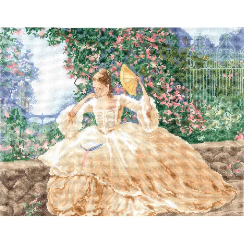 Ringlets & Roses - Janlynn クロスステッチ 刺繍キット