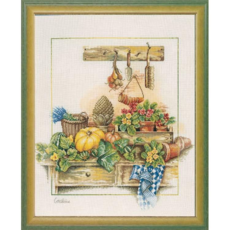 クロスステッチ刺繍キット Lanarte(ラナーテ) - Home and Garden - Work Bench