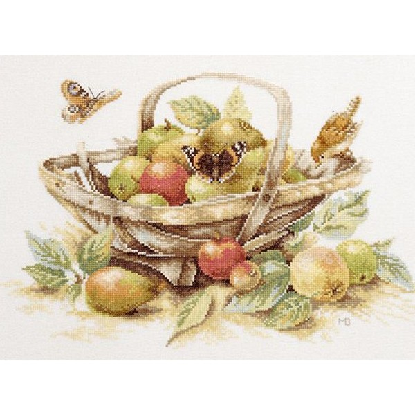 クロスステッチ刺繍キット Lanarte(ラナーテ) - Home and Garden - Summerfruit