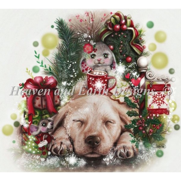 Dreaming Of Christmas-HAED(Heaven And Earth Designsクロスステッチキット