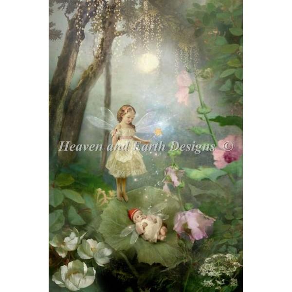 クロスステッチ刺繍キットHeaven And Earth Designs(HAED) - The Secret Of Men