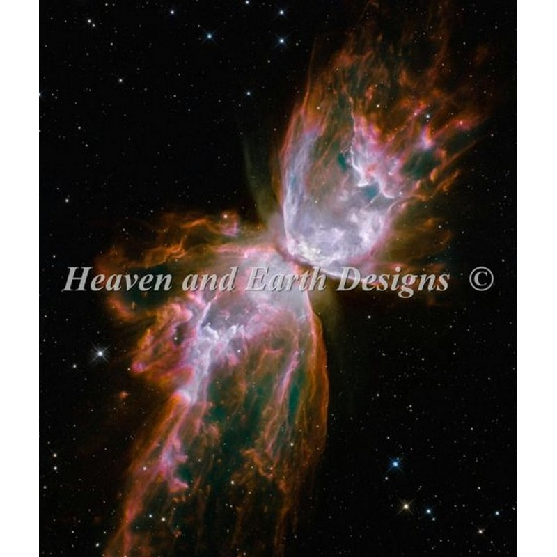 Celestial Wings-Heaven And Earth Designs(HAED) クロスステッチ刺繍キット宇宙デザイン
