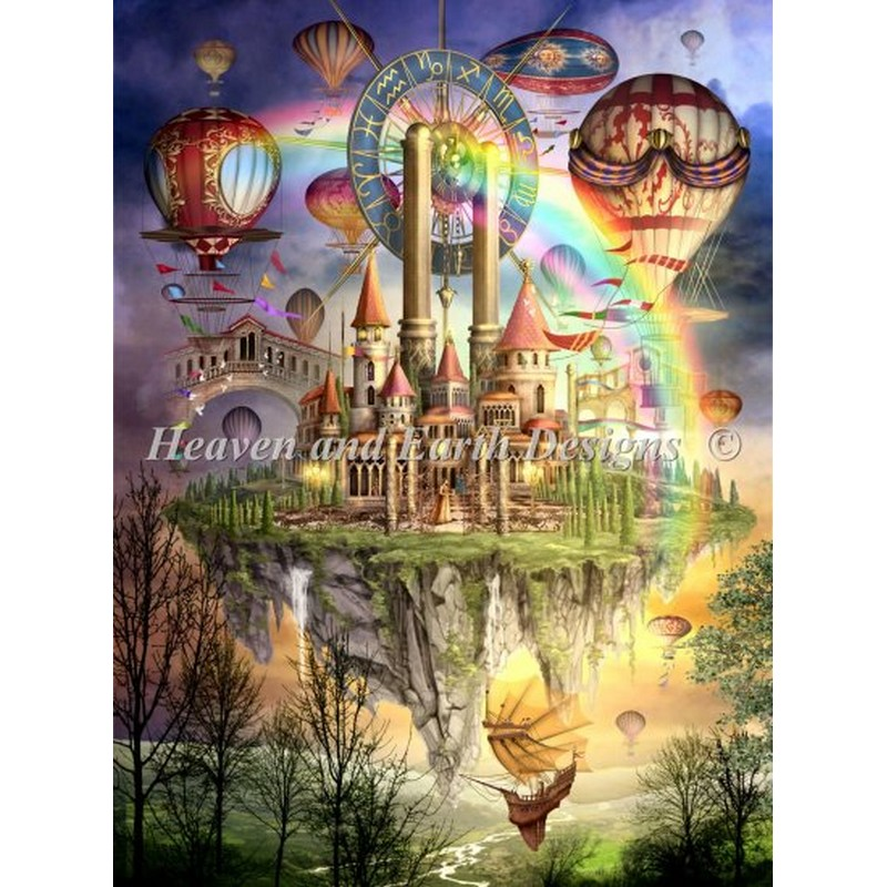 Tarot Town and II Max キット Color-HAED(Heaven and Earth Town Designs)-クロスステッチ キット, にんにくのたからR:cb27bb8b --- campusformateur.fr