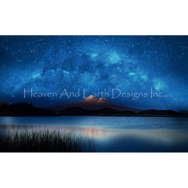 クロスステッチキットShasta Blue- HAED(Heaven And Earth Designs)