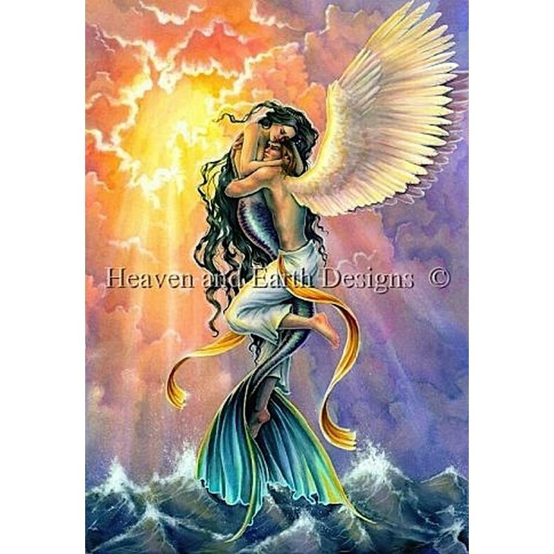 クロスステッチキットImpossible Love - HAED(Heaven And Earth Designs)