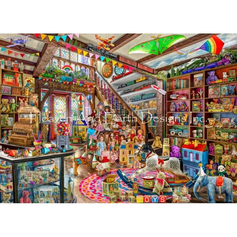 クロスステッチ キット 上級者 全面刺し The Toy Shoppe - HAED(Heaven And Earth Designs)