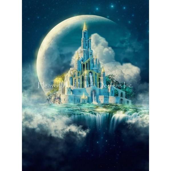 クロスステッチ刺繍キット Heaven And Earth Designs(HAED) - Moon Castle
